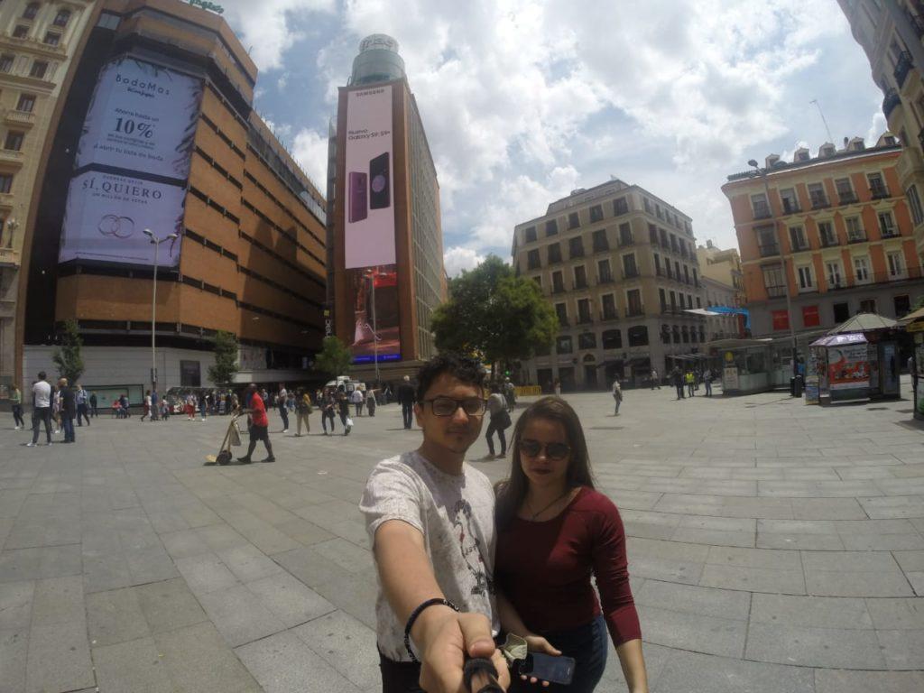 Madri, Gran Via