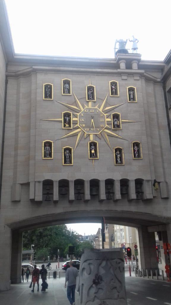 Carillon du Mont des Arts em Bruxelas