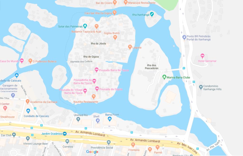 Ilha da Gigóia, como ir?