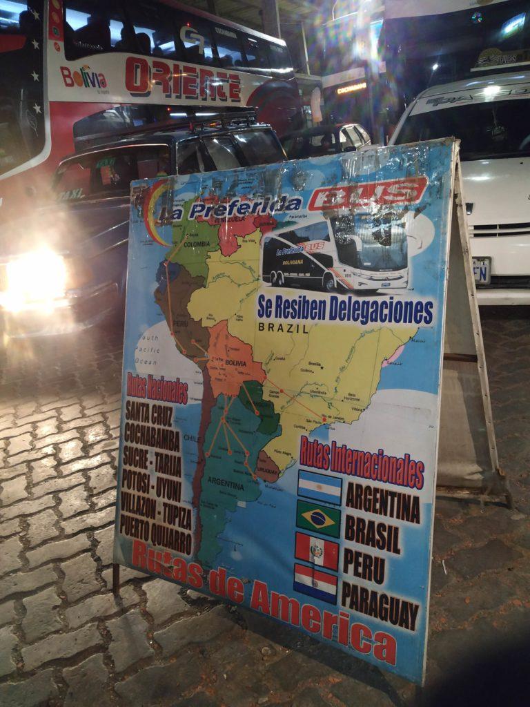Ir de La Paz a Uyuni de ônibus