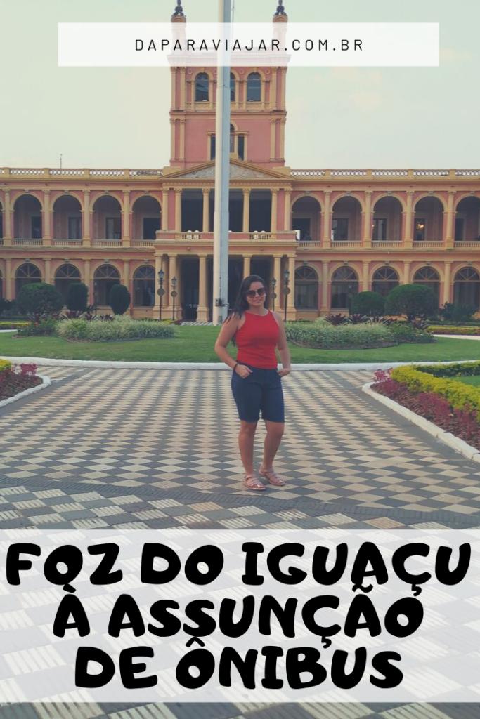 ônibus de Foz do Iguaçu para Assunção