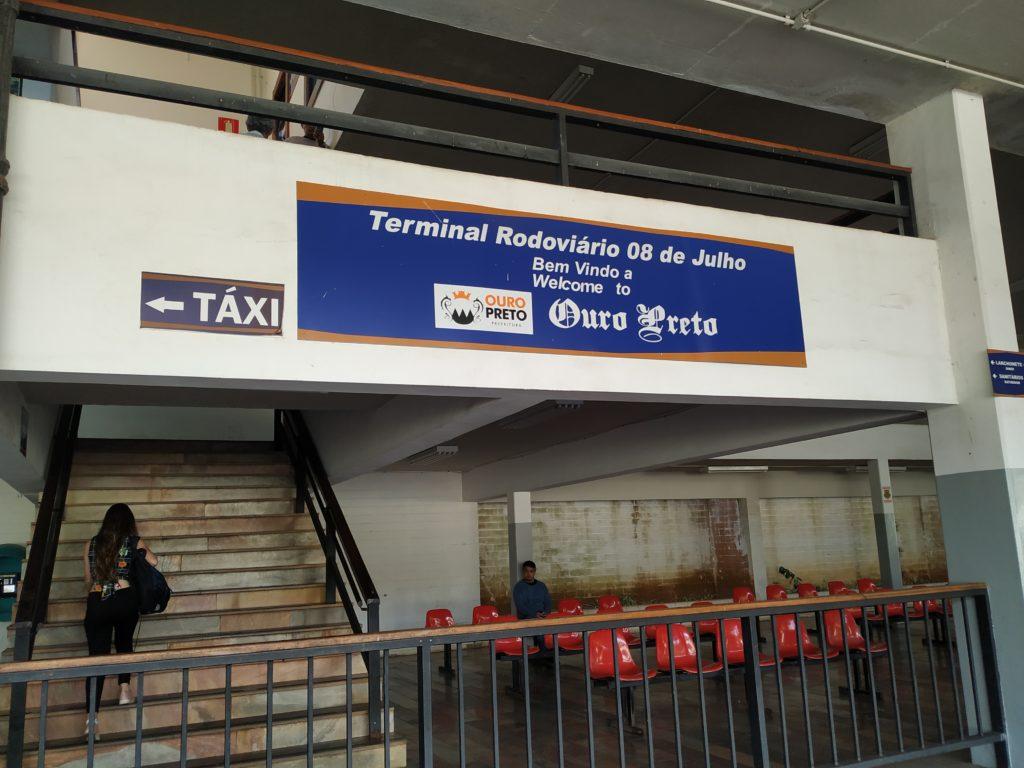 Ônibus de Belo Horizonte para Ouro Preto