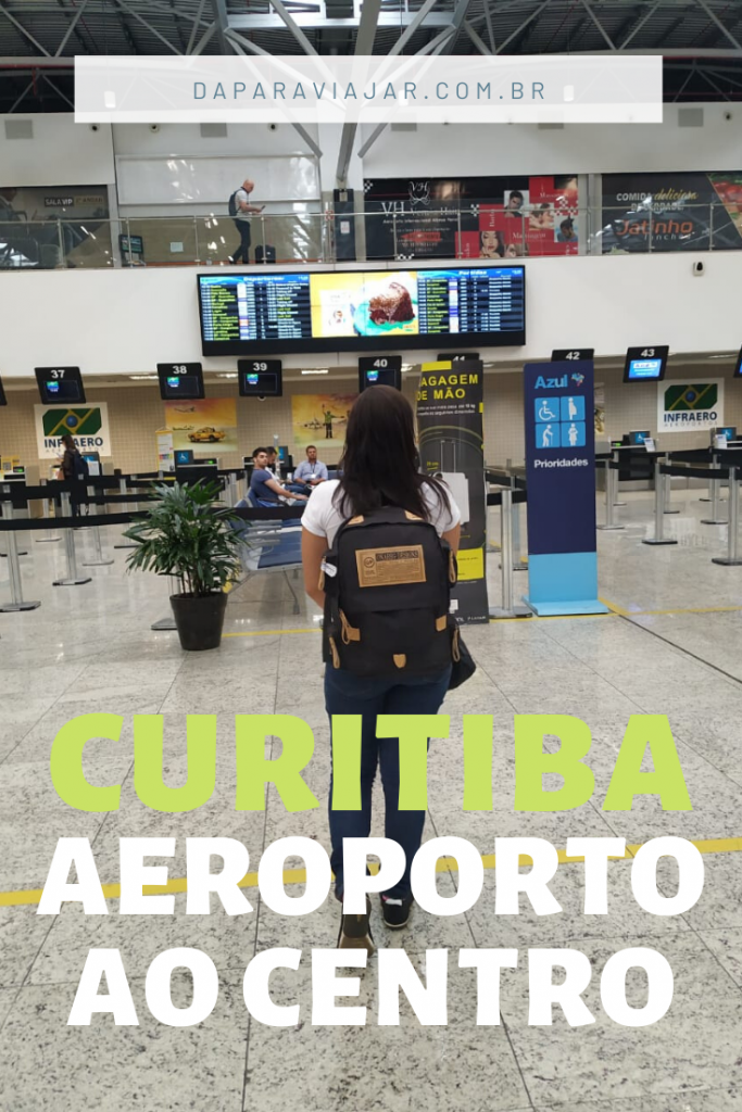 Como ir do Aeroporto de Curitiba ao Centro