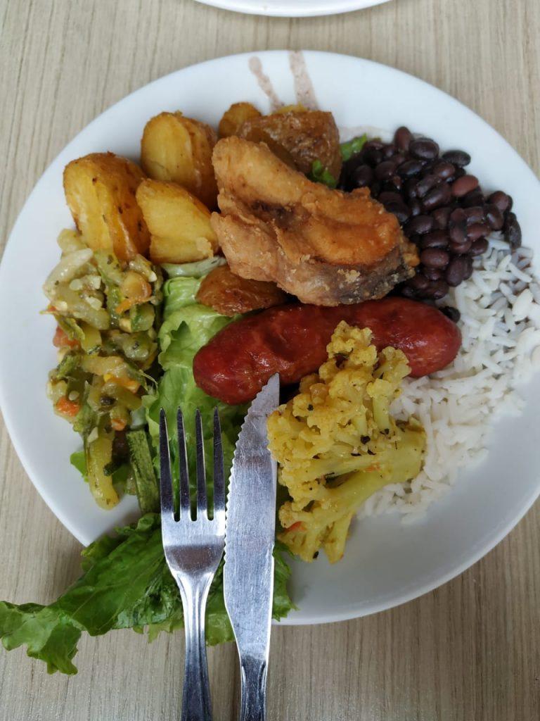 Mais uma opção de onde comer em Curitiba