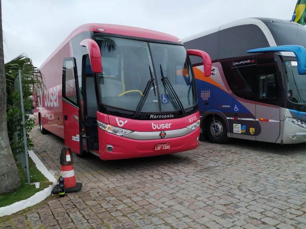 Reserva pela Buser de Curitiba para Florianópolis