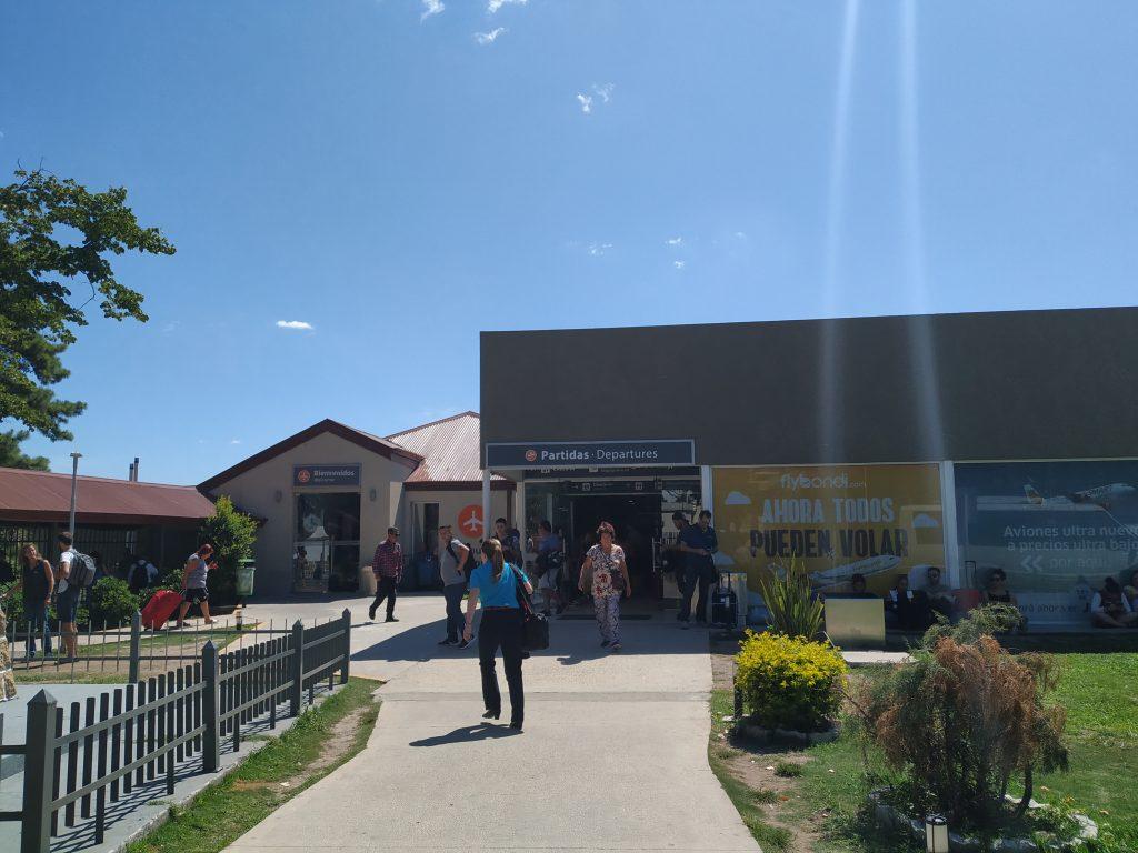 Área externa Aeroporto El Palomar