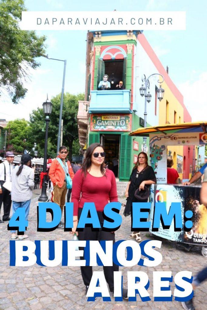 Roteiro em Buenos Aires 4 dias - Salve no Pinterest!