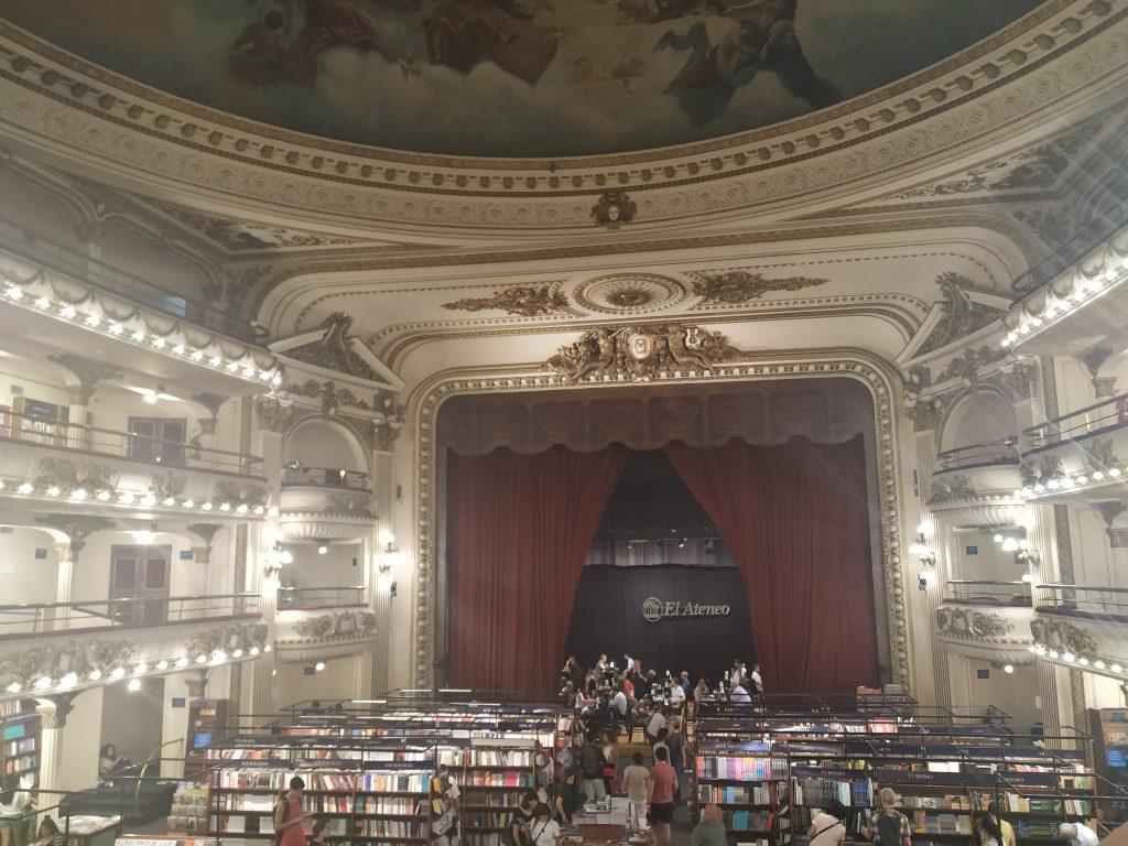 Livraria El Ateneo: 4 dias em Buenos Aires