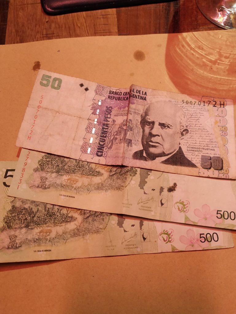 Trocar dinheiro em Buenos Aires