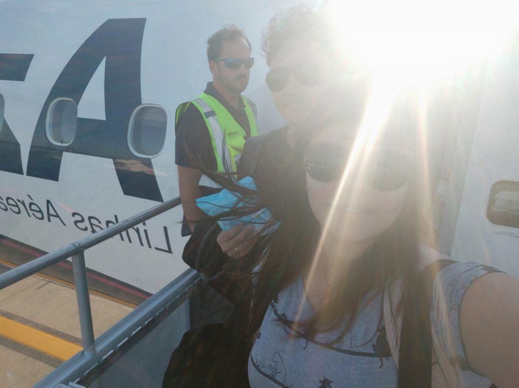vôo de Foz do Iguaçu para o Rio de Janeiro