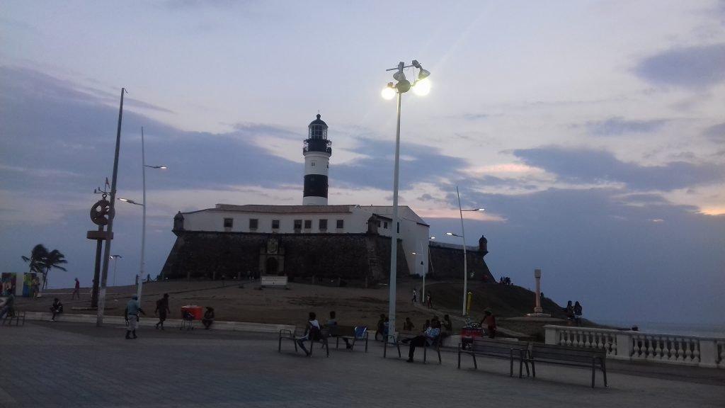Roteiro em Salvador - Farol da Barra