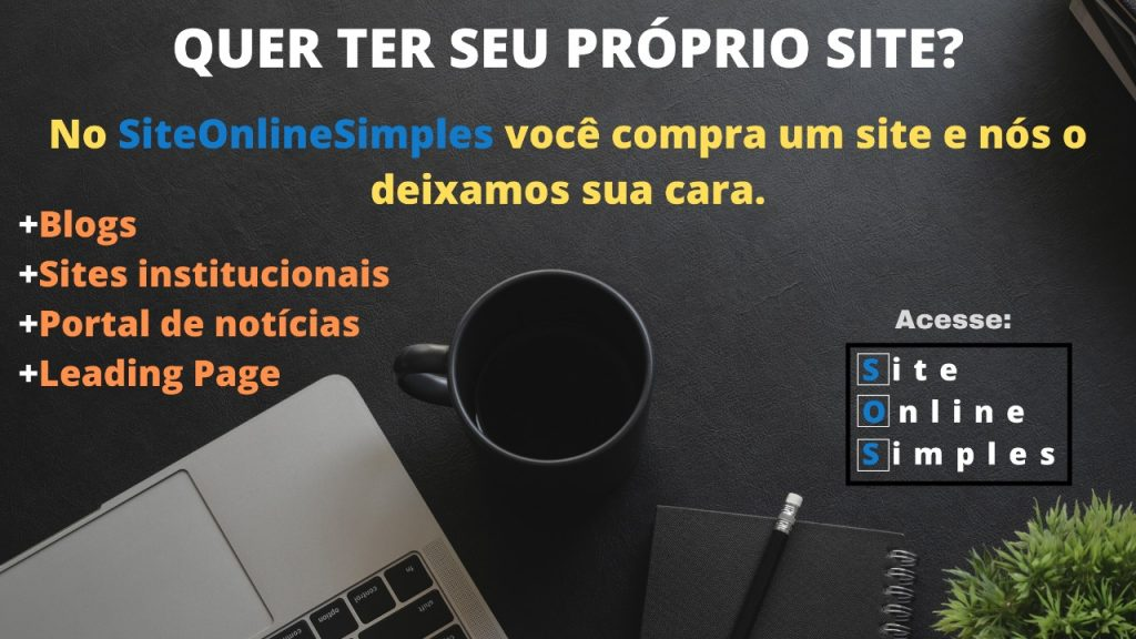 Seu site online! http://siteonlinesimples.com.br/
