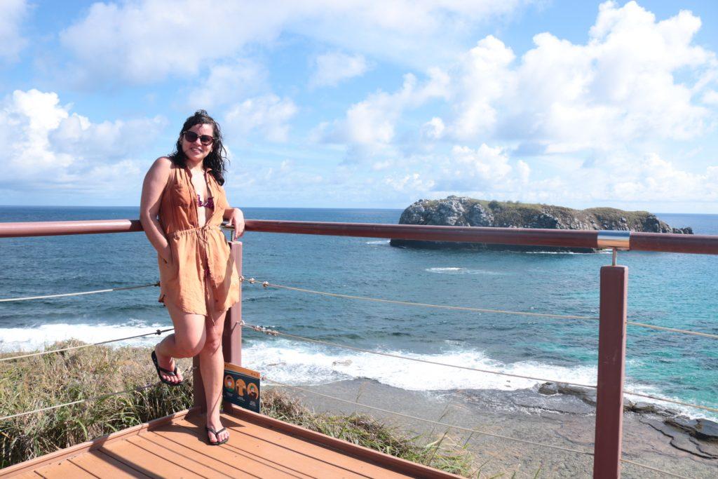 Praia do Leão e seu lindo mirante!