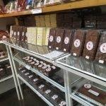 Fábrica de sorvete e chocolate
