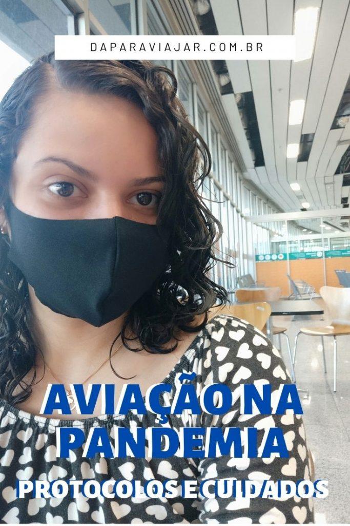 Viajar de avião na pandemia: Protocolos e cuidados