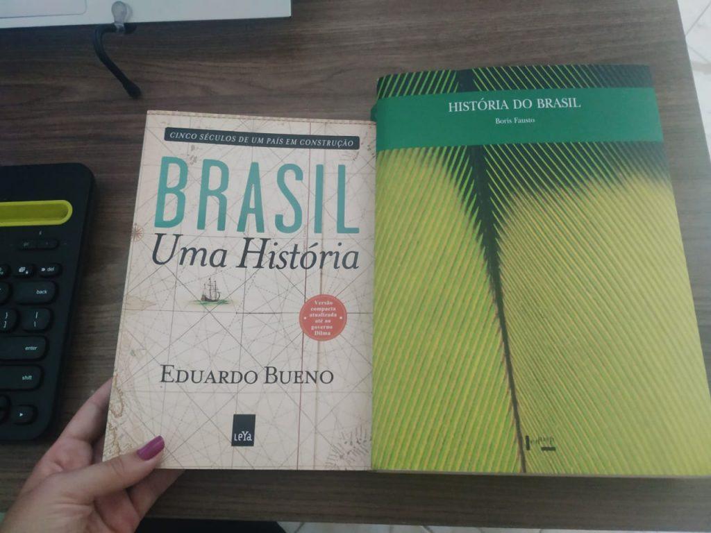 Livros de história do Brasil recomendados