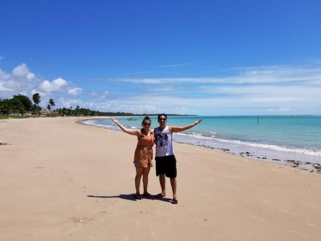 Praia de Ipioca em Maceió