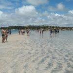 Caminho de Moisés na Praia de Barra Grande