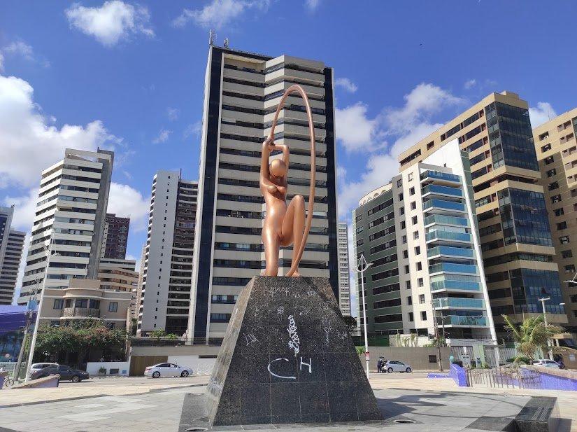 Estátua da Iracema Guardiã
