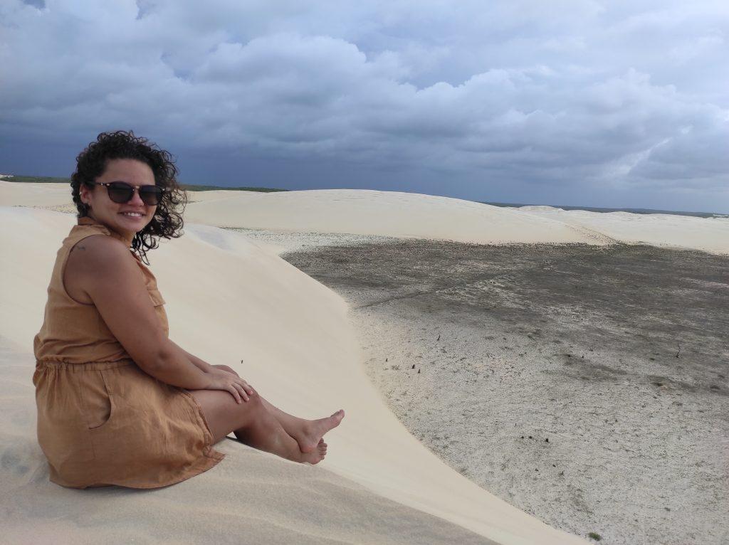 Nas dunas de areias