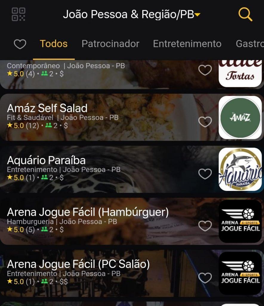 Prime Gourmet João Pessoa no App Prime 5.0
