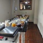 Café da manhã do Hotel Alpenhof