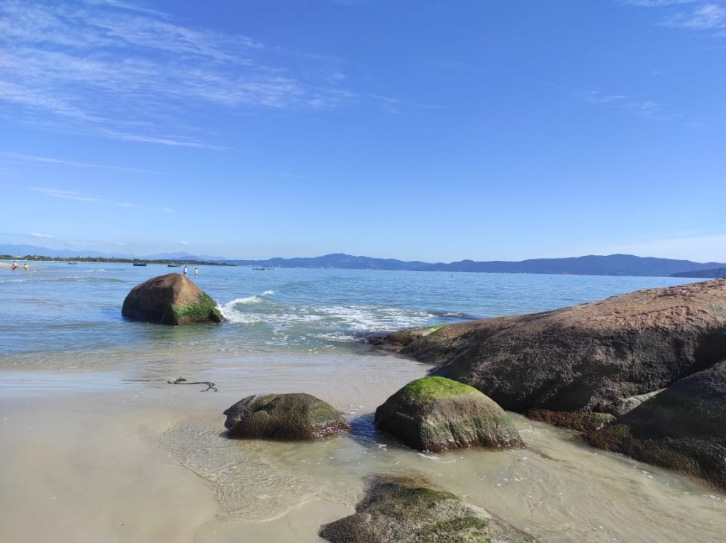 Praia do Forte em Florianópolis