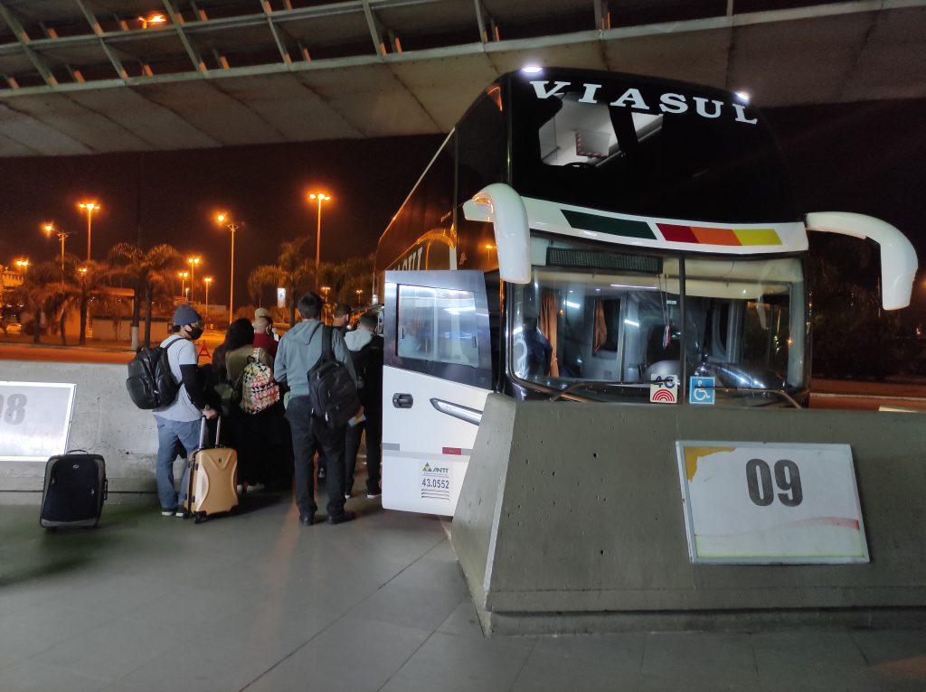 Florianópolis a Gramado de ônibus