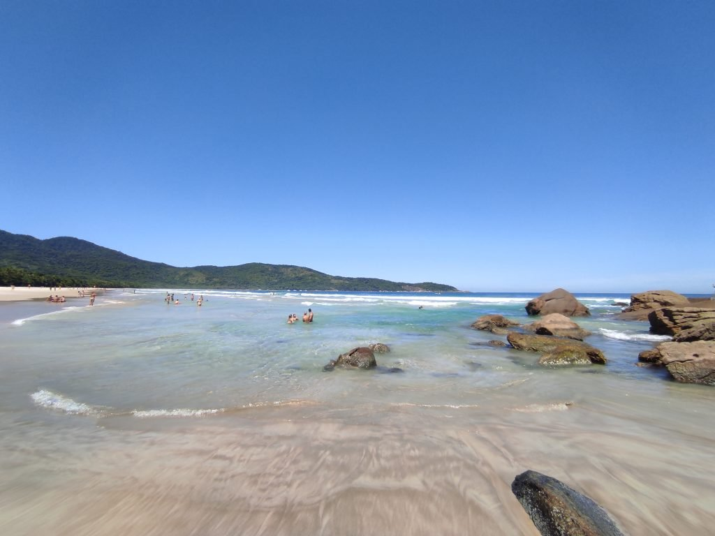Praia de Lopes Mendes em Ilha Grande