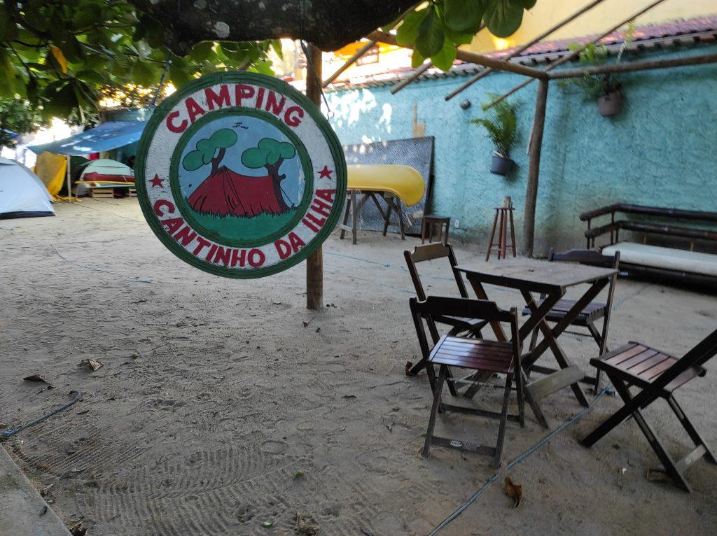 Hospedagem de camping em Ilha Grande