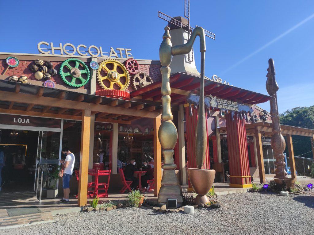 Fábrica de chocolates em Gramado