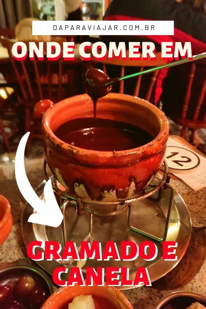 Sugestões de lugares para comer em Gramado e Canela - Salve no Pinterest!